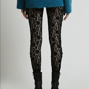 FP Intimately Lazy Lace legging